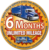 MTR 6 Month Unlimited Mileage Warranty