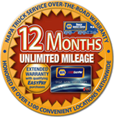 MTR 12 Month Unlimited Mileage Warranty